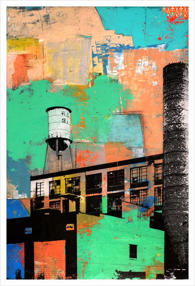 Rust Belt Art Print by dfainelli