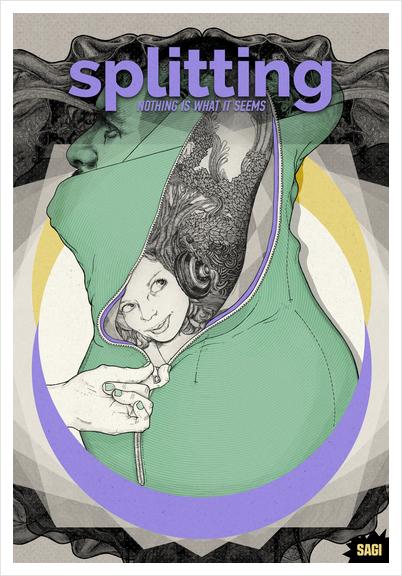 NOTHING IS WHAT IT SEEMS Art Print by sagi.art