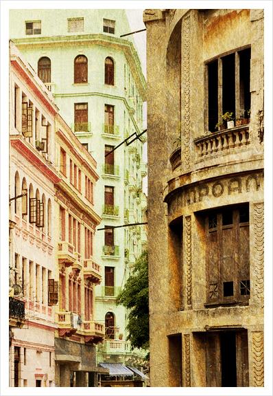 Street In Cuba Art Print by fauremypics