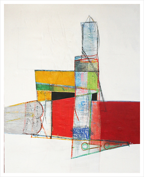 Tower Art Print by Pierre-Michael Faure