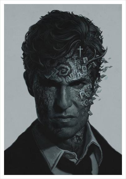 True Detective Art Print by yurishwedoff