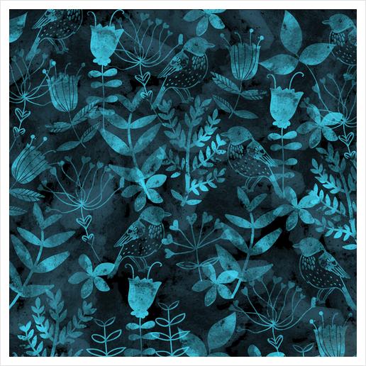Abstract Botanical Garden  Art Print by Amir Faysal