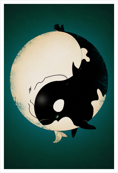 When Willy meets Moby Art Print by dEMOnyo