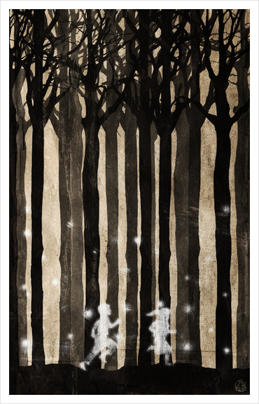 Forest Art Print by Seamless