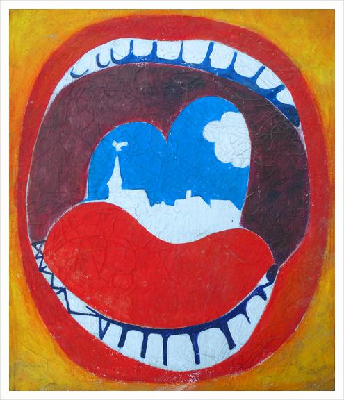 Souvenir de Province Art Print by Georgio Fabrello