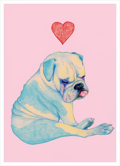 Bulle Art Print by natalie foss