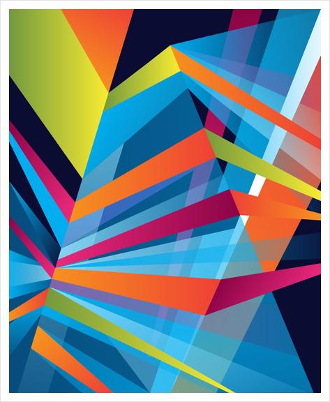 Prisme #04 Art Print by Azarias