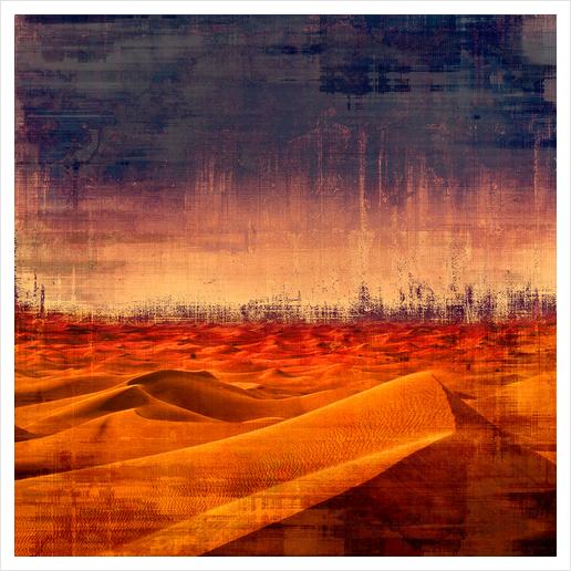 Desert Art Print by Malixx