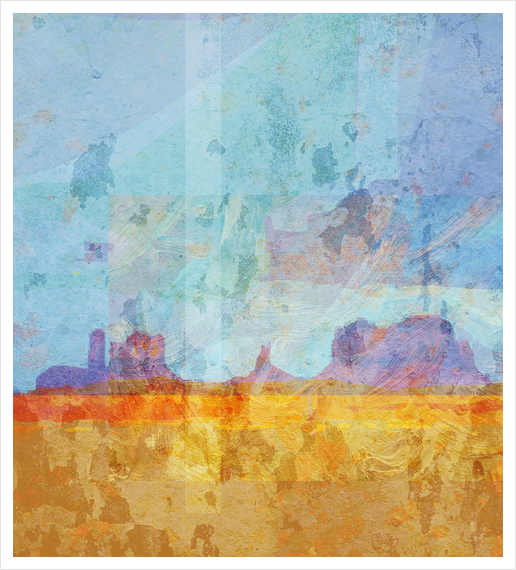Monument VAlley Art Print by Malixx
