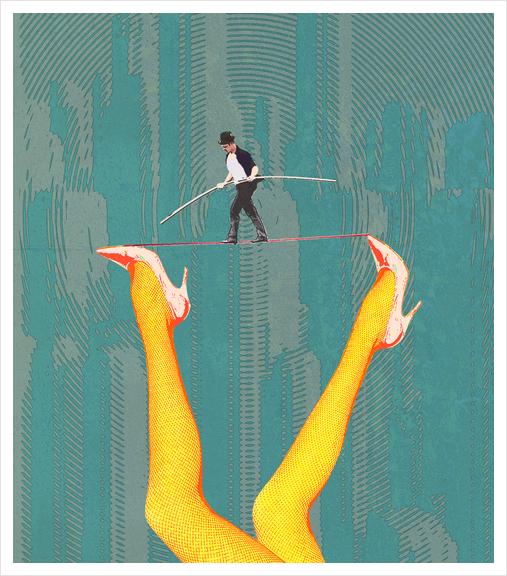 Female Psychology Art Print by Alex Xela