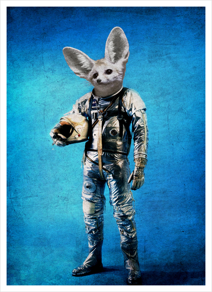 Fennec the captain Art Print by durro art