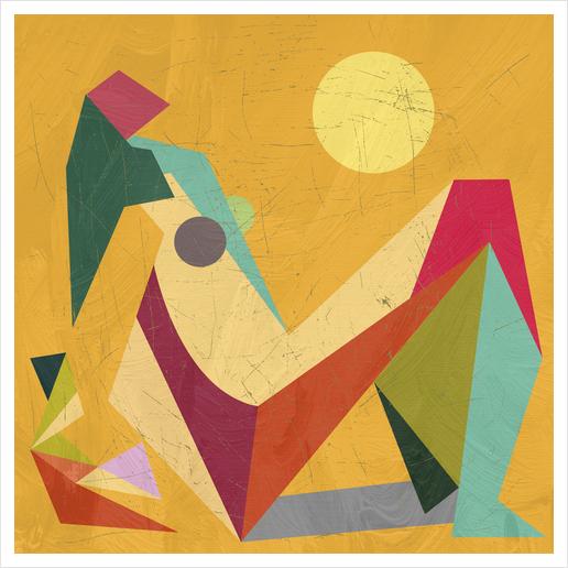 Glaring Sunlight Art Print by Vic Storia