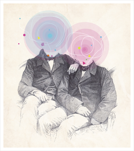 Goncourt Brothers Art Print by tzigone