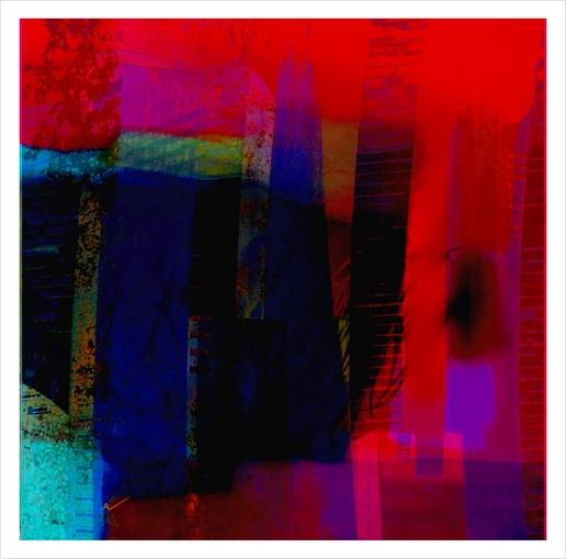 Ombre Art Print by jacques chiron