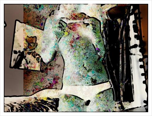 Pourquoi pas Art Print by jacques chiron