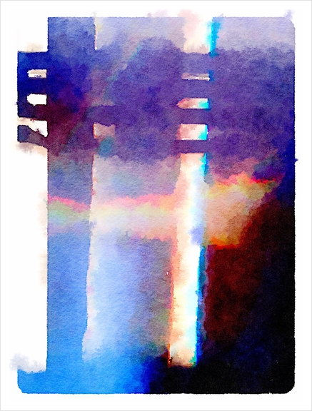 Abstract spectrum Art Print by fauremypics