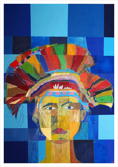 Indian  Art Print by Pierre-Michael Faure