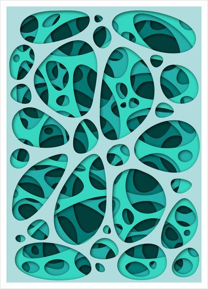 Interarea #15 Art Print by Azarias