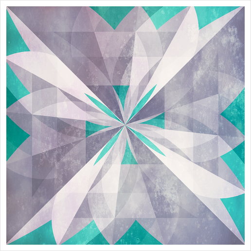 Purple mint Art Print by DejaReve