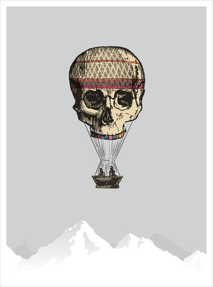 L'amour du risque Art Print by tzigone