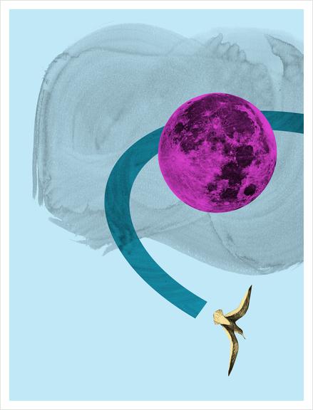 out of range Art Print by junillu