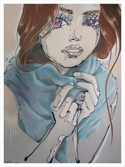 Oritia Art Print by Monique van Steen
