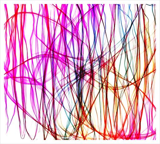 PIXEL RAINBOW Art Print by Chrisb Marquez