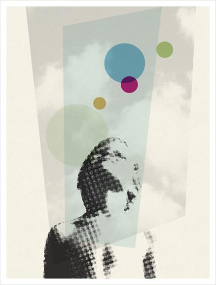 Regard Art Print by Vic Storia