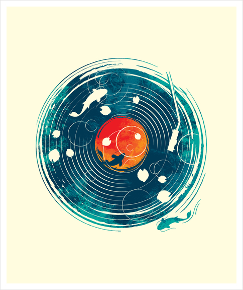 Sound Of Water Art Print by StevenToang
