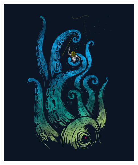 Undersea Attack Art Print by StevenToang