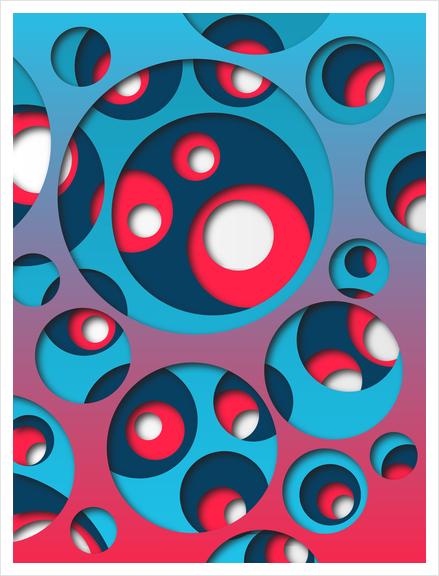 Interarea #01 Art Print by Azarias
