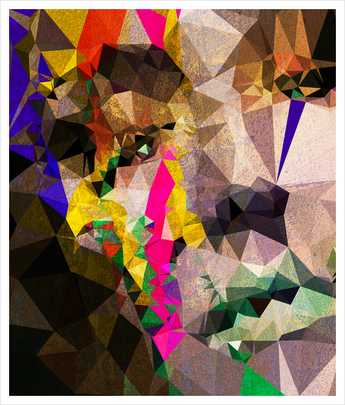 Colored Tears Art Print by Vic Storia