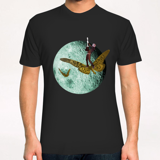 Rock the Moon T-Shirt by tzigone