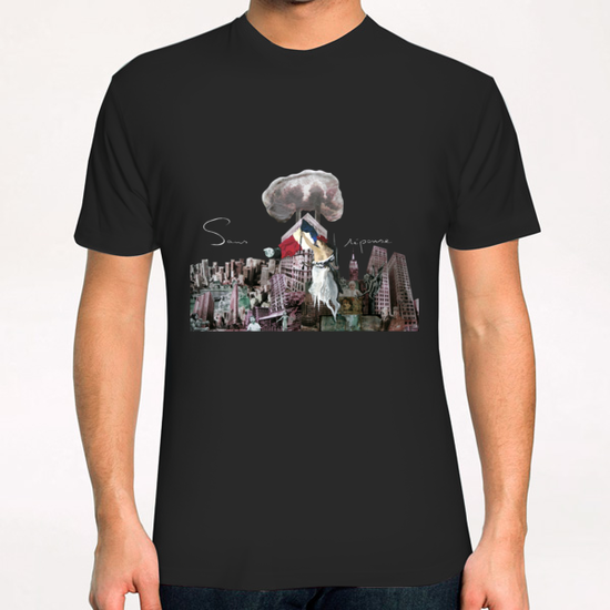 Sans réponse T-Shirt by frayartgrafik