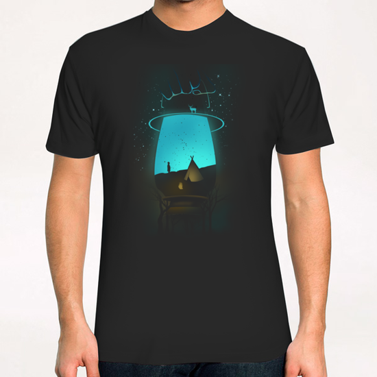 Lamp-camp T-Shirt by chestbox