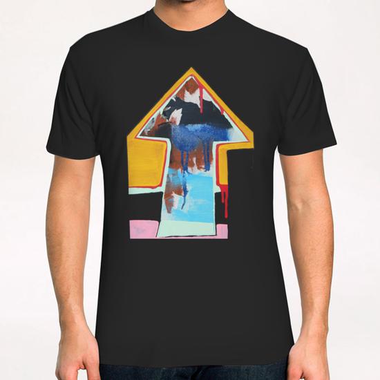Là-haut / Tryptique 1 T-Shirt by Pierre-Michael Faure