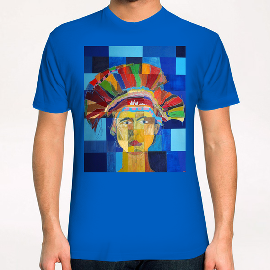 Indian  T-Shirt by Pierre-Michael Faure