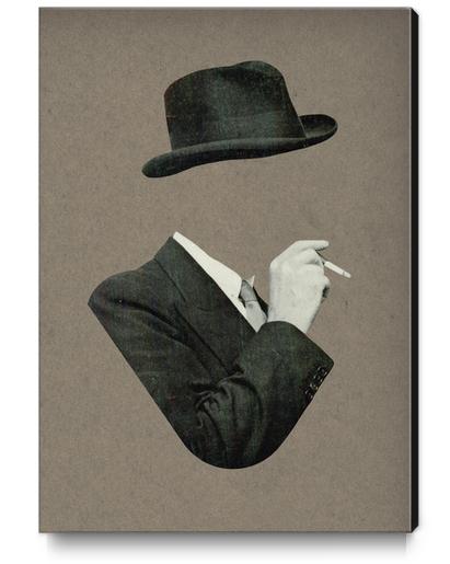 Smoke Canvas Print by Lerson