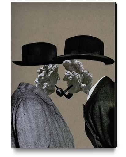 Smoke (II) Canvas Print by Lerson