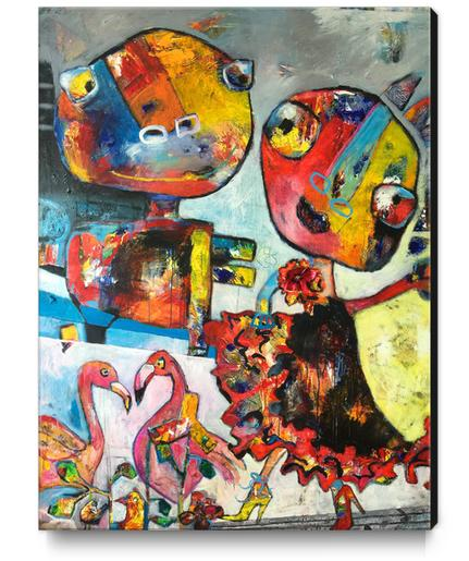 Let's Dance Canvas Print by Shefali Ranthe