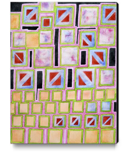 Composition out of Three Kind of Squares Canvas Print by Heidi Capitaine