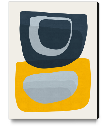 Abstrato II Canvas Print by Vitor Costa
