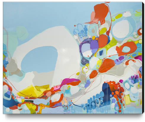When Alexa Moved In Canvas Print by Claire Desjardins