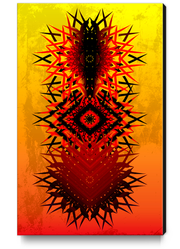 KADAMPA Canvas Print by Chrisb Marquez