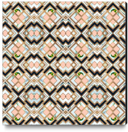 Art deco geometric pattern Canvas Print by mmartabc