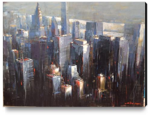 Awakening City Canvas Print by Vantame