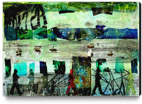 BEAUTIFUL WORLD Canvas Print by db Waterman