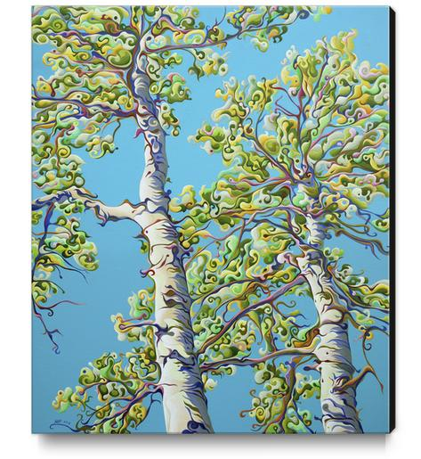 Blossoming CreativiTree Canvas Print by Amy Ferrari Art