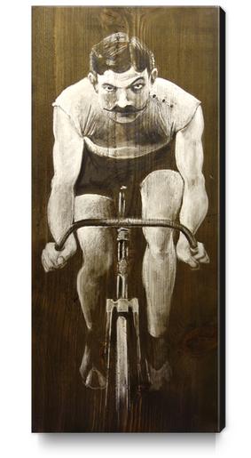 Le Champion Canvas Print by Georgio Fabrello
