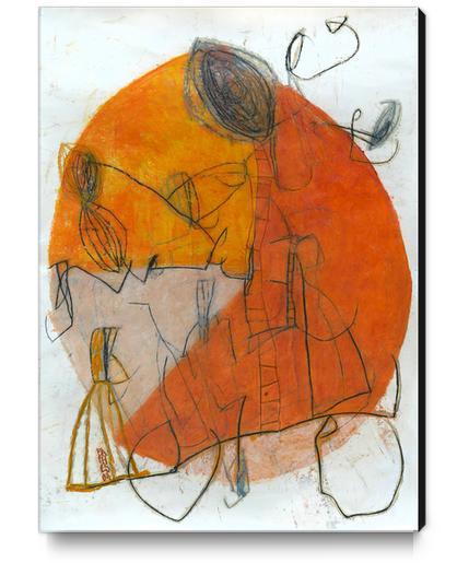 Composition 8 Canvas Print by Jean-Noël Bachès